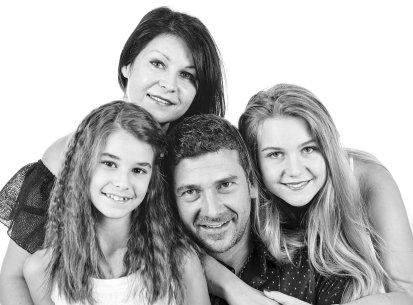 Семейна фото сесия в студио